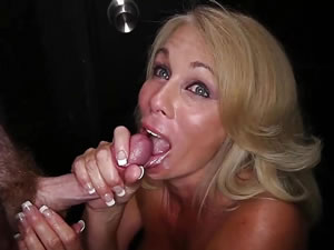 Gloryhole mature sex action - group fetish tube
