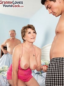 Old couple and horny boy - family sex pics