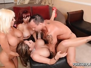 PornstarPlatinum  - Eva Notty, Tara Holiday and Sexy Vanessa