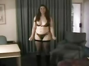 Nervous White Milf is Coached by Hubby for Black Lover