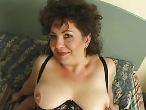 Hot Busty Mature British Cougar Assbanged