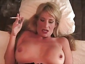 Hot Stepmom Smoking and Banging