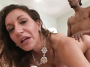Demented Horny White GILF Corrupts BBC