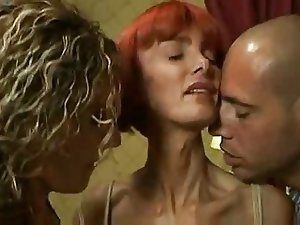 Hot French Mature Threeway