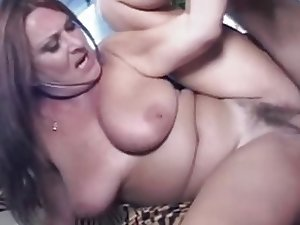 Mature Hairy Big Tit MILF Gigi Loves Young Cock
