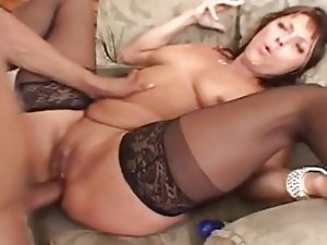 Jillian Slutty MILF Gets Buttfucked By Sons Friend.