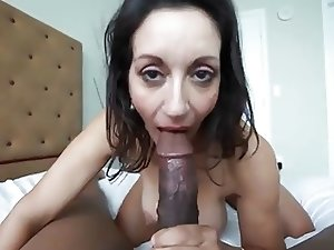 Amazing Gilf Loves BBC!!!! (Super Hot Gilf)