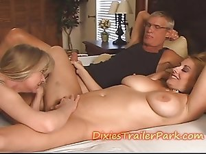 Two MILFS, ME and a CREAM PIE EATER