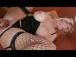 Big tit mature sucks and ges fucked