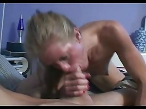 Skinny Mature Skank Mom Dawndi Fucks Stepson