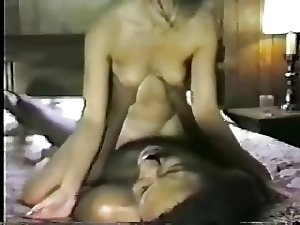 Hot white wife fucks black lover while hubby tapes