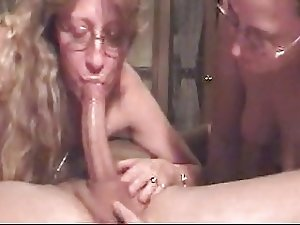 Double Deepthroat For Lucky Guy By Breton